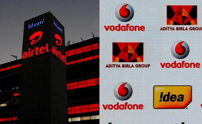 Telecom Department sets deadline for Bharti Airtel Vodafone Idea to clear dues - Sakshi