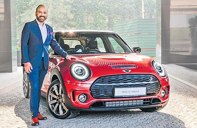 BMW mini clubman in the Indian market - Sakshi