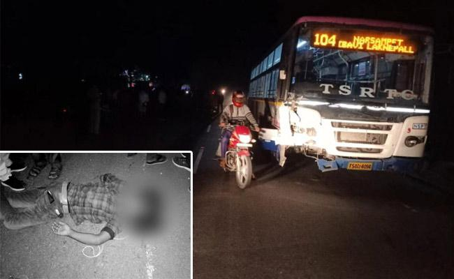 3 Young Died In RTC Bus Road Accident In Warangal Rural - Sakshi