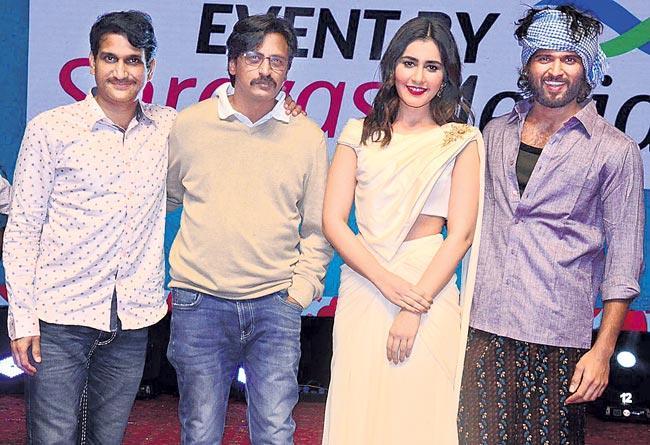 Vijay Devarakonda Speech At World Famous Lover Pre Release Event  - Sakshi