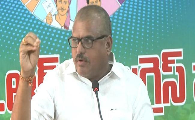 Minister Botsa Satyanarayana Questions Chandrababu Over IT Raids - Sakshi
