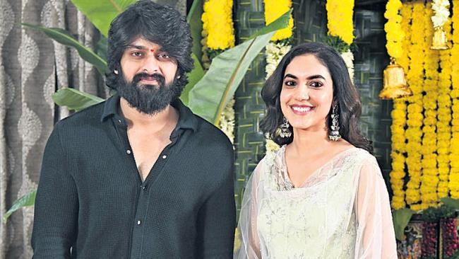 Naga Shourya And Ritu Varma New Movie Launch - Sakshi