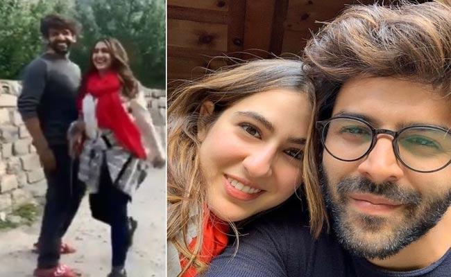 Kartik Aaryan Shares Video That Sara Ali Khan Being Called Bhabhi - Sakshi