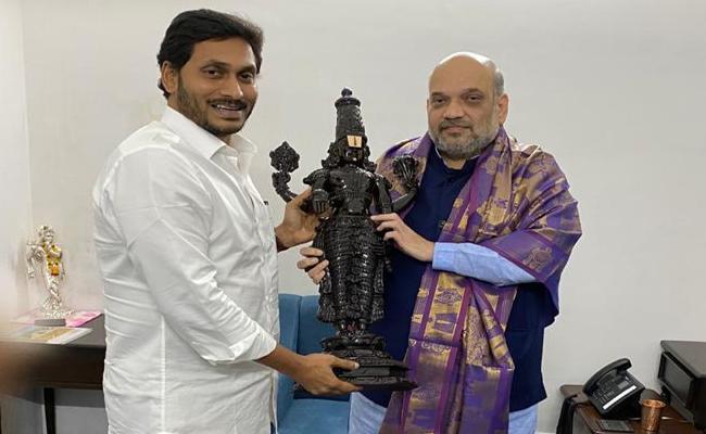 CM YS Jagan Meeting With Amit Shah - Sakshi