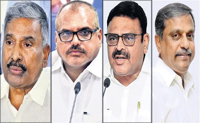 YSRCP Leaders Fires On Chandrababu Naidu And Lokesh - Sakshi