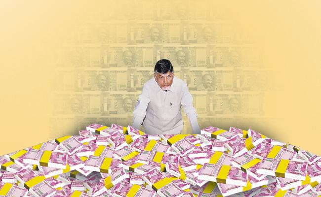 Income Tax Raid Found Only Small Part Of Robbery Of Chandrababu and Team - Sakshi