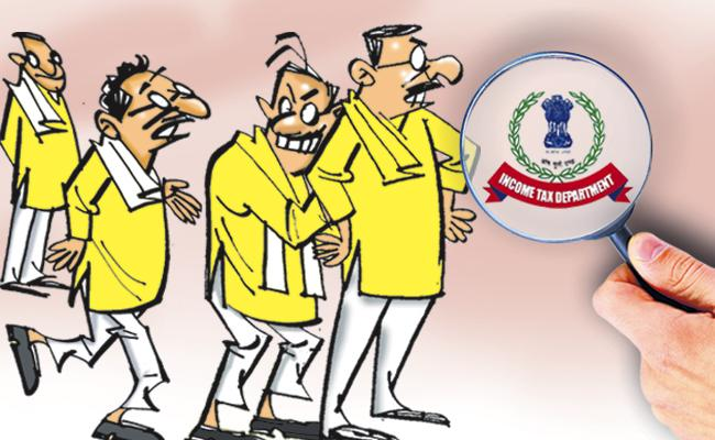 TDP Leaders claims that they have nothing to do with IT attacks - Sakshi