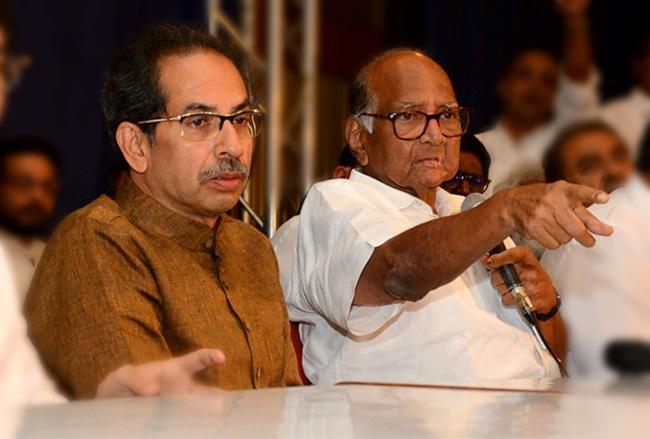 Sharad Pawar upset as Transfer Of Koregaon Bhima Case - Sakshi