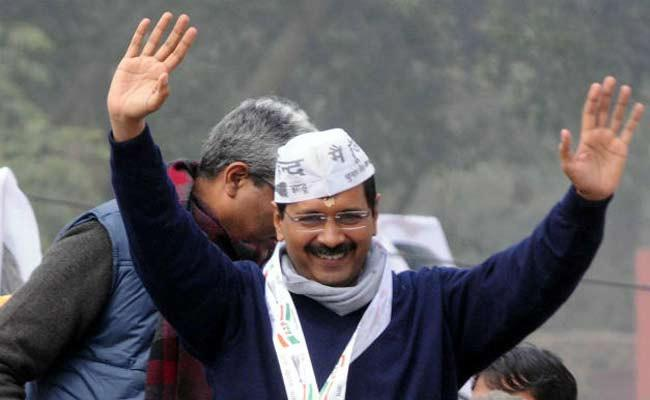 AAP Invite Common 50 People As VIP Guests For CM Oath Ceremony - Sakshi