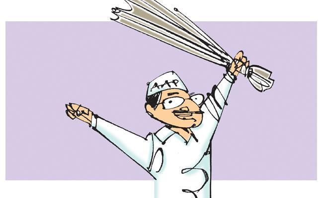 Arvind Kejriwal Big Shock To Modi And Amit Shah - Sakshi