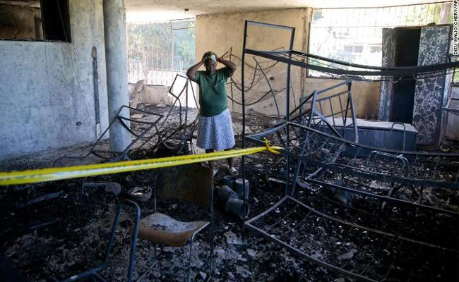 At Least 15 Haiti Orphanage Children Died In Fire Accident - Sakshi