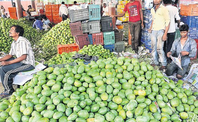 Kothapet Fruit Market Shifting to Koheda Approval - Sakshi