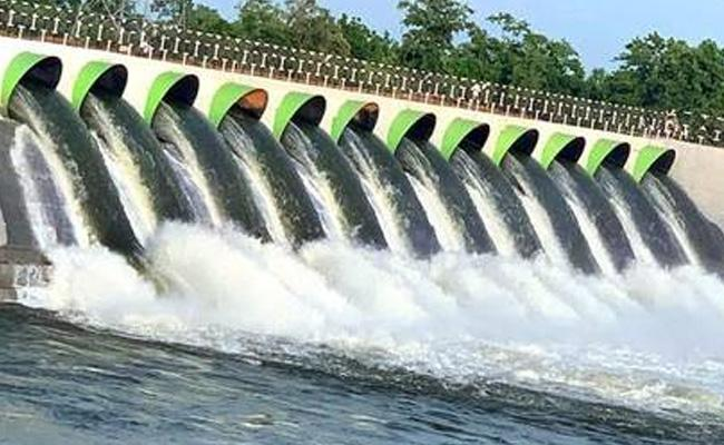 Master Plan For Use Godavari Water Through Kaleshwaram - Sakshi