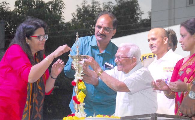 Sakshi Premier League Awards ceremony held in Sainikpuri Bhavans Cricket Grounds