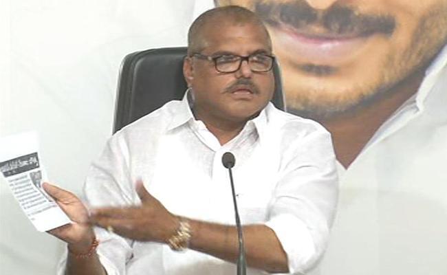 Minister Botsa Satyanarayana Fires On Chandrababu - Sakshi