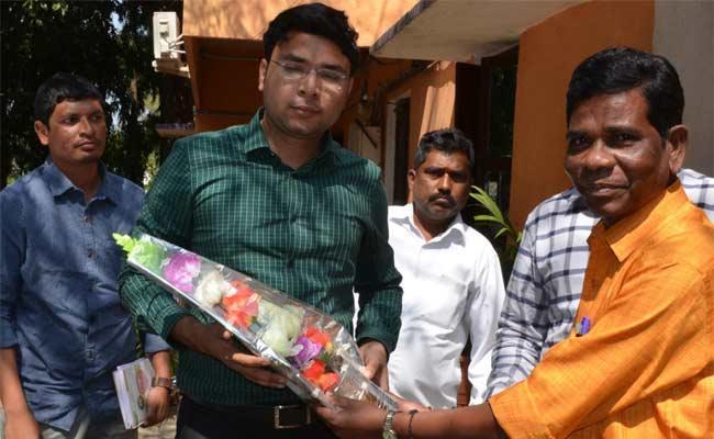 We Solve Problems Says ITDA Officer  - Sakshi