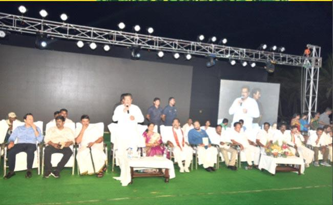 Sri Ranganatha Raju Speech Beach Festival In West Godavari District - Sakshi
