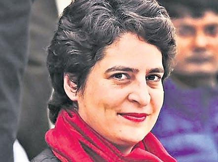 Congress planning to nominate Priyanka Gandhi Vadra  - Sakshi