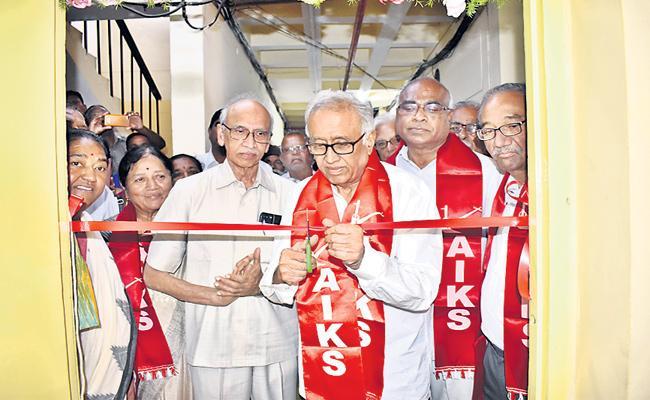 Suravaram Sudhakar Reddy Inaugurates YV Krishna Rao Office - Sakshi