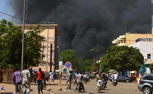 Terror Attack On Church In Burkina Faso - Sakshi