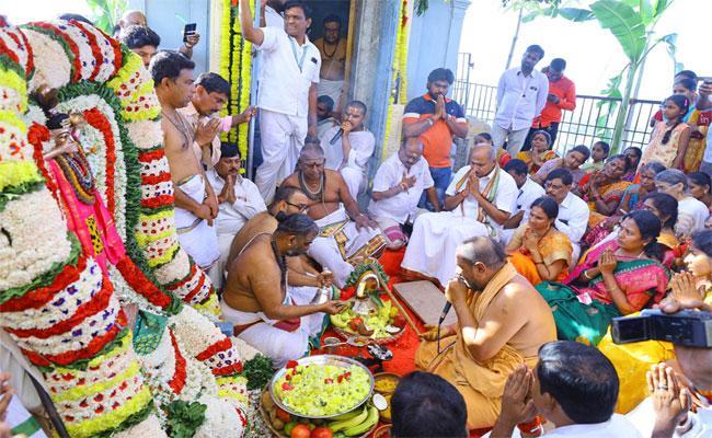Srikalahasti Shivaratri Brahmotsavalu Started - Sakshi