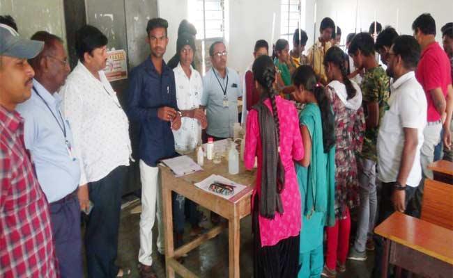 Fraud Doing In Intermediate Practical Exams - Sakshi