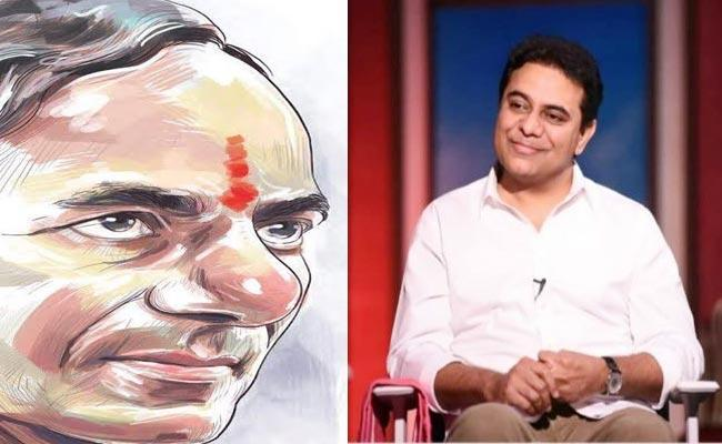 KTR Warm Wishes To His Father CM KCR On Birthday Over Twitter - Sakshi