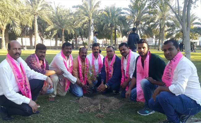 CM KCR Birthday Celebrations In Gulf Bahrain  - Sakshi