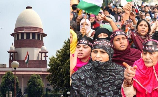 Supreme Court Respond On Shaheen Bagh Protest - Sakshi