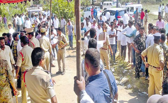 Elections of the Co-operative Societies in several districts have led to tensions - Sakshi