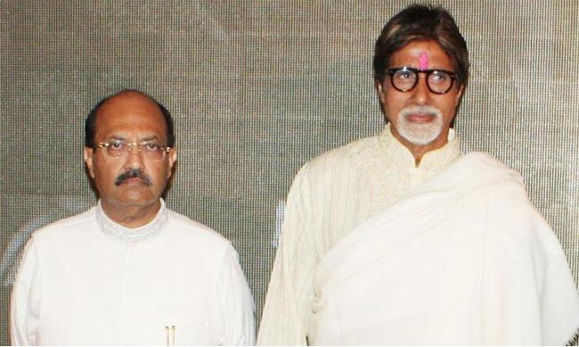 Regret My Overreaction Against Amitabh Bachchan: Amar Singh - Sakshi