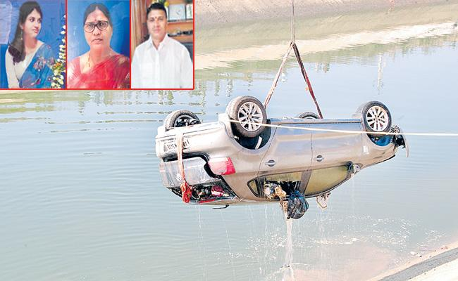 TRS MLA Manohar Reddy Relatives Suspicious Death At Kakatiya Canal - Sakshi
