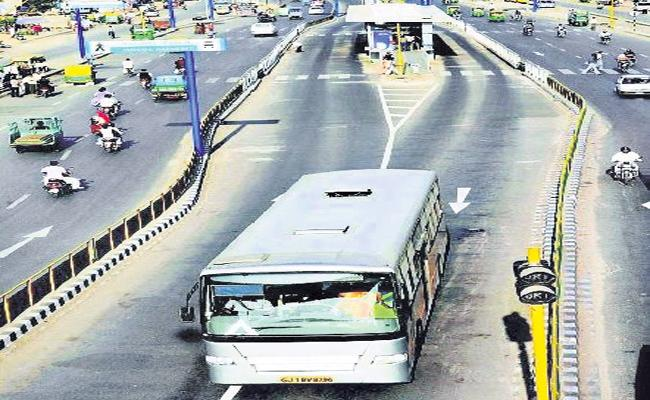 BRTS Technology Construction in Hyderabad - Sakshi