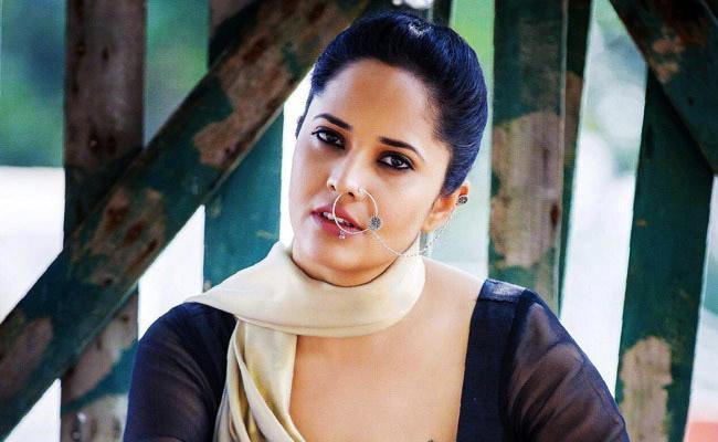 Anchor Anasuya Bharadwaj Negative Shade In Vijay Devarakonda Films - Sakshi