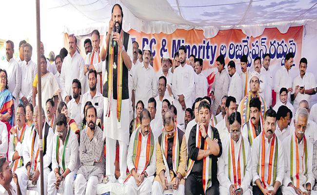 Uttam Kumar Reddy Fires On BJP - Sakshi