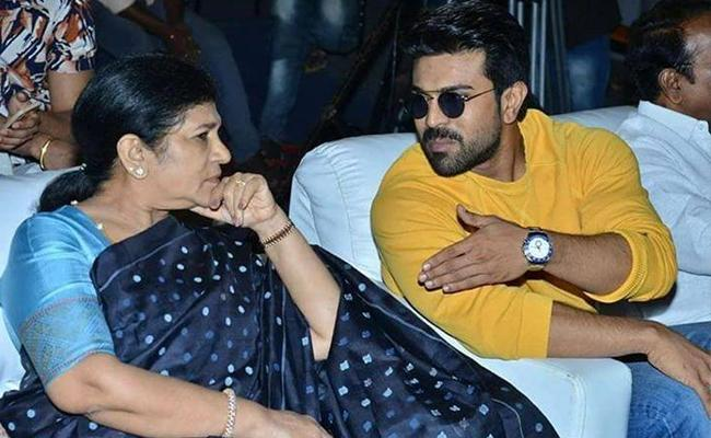 Ram Charan Birthday Wishes To Her Mother Surekha With Emotional Message - Sakshi