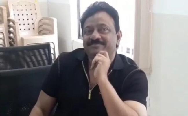 RGV Meets Shamshabad ACP - Sakshi