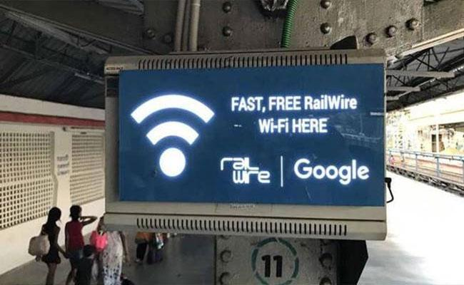 In Railway Stations Google To End Its Free WiFi Journey - Sakshi