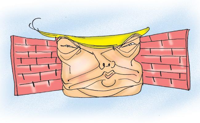 ABK Prasad Article On Wall Construction To Hide Slums Ahead Of Trump Ahmedabad Visit - Sakshi