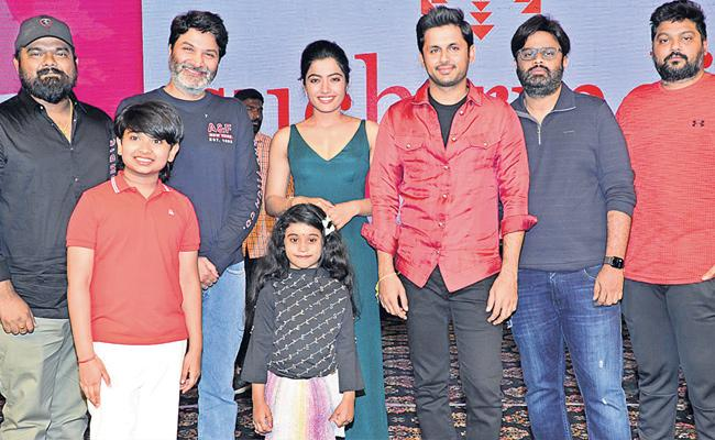 Trivikram Srinivas Speaks Over Bheeshma Movie - Sakshi