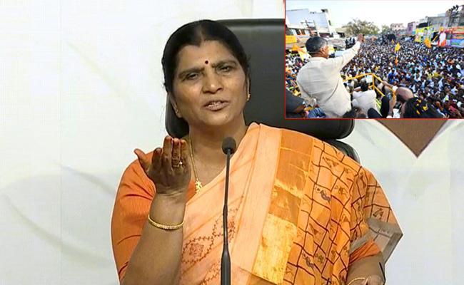 Laxmi Parvathi Slams On Chandrababu Over TDP Bus Yatra - Sakshi