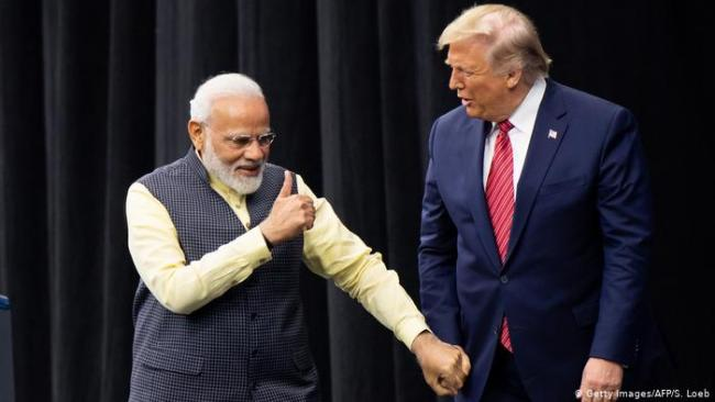 Trump Says Saving Big Trade Deal With India For Later - Sakshi
