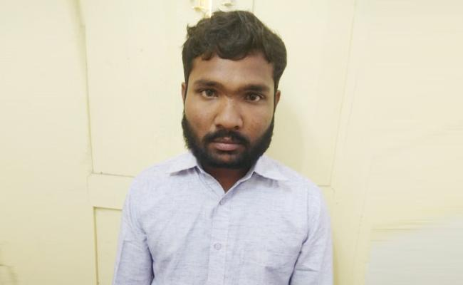 Man Arrested in Harassment in Whatsapp Prakasam - Sakshi