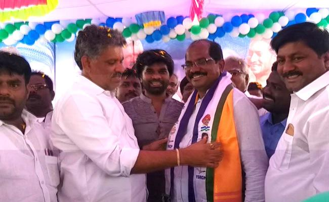 TDP Tirpati Rural President and Other TDP Activists Joins In YSR Congress Party - Sakshi