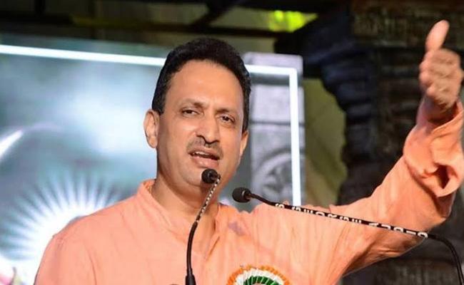 BJP MP Ananth Kumar Hegde Controversial Comments On Mahatma Gandhi - Sakshi