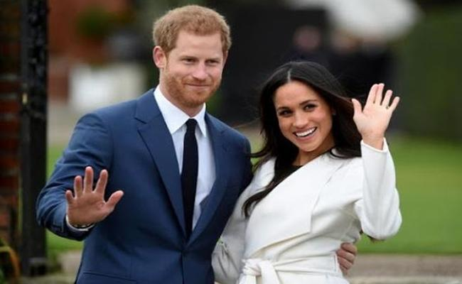 Meghan Markle And Prince Harry To Officially End Royal Duties By March End - Sakshi