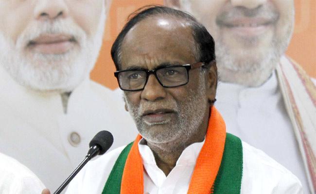 BJP Leader Laxman Slams TRS Government - Sakshi