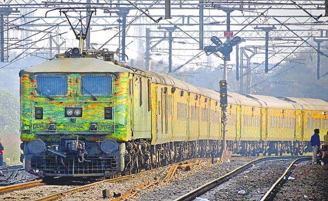 Premium trains Competitive for plane ticket prices - Sakshi