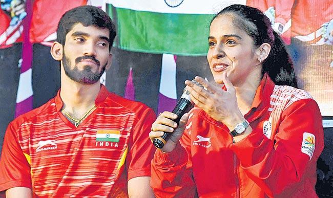 Saina, Srikanth chase Olympic berth - Sakshi