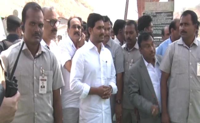 CM YS Jagan Inspects Veligonda Project Works In Prakasam District - Sakshi